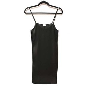 NWOT Aritzia Black Slip Dress - Wilfred
